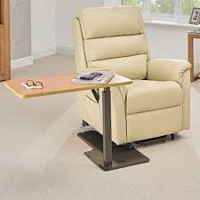 table for recliner chair adjustable table riser recliner table recliner table