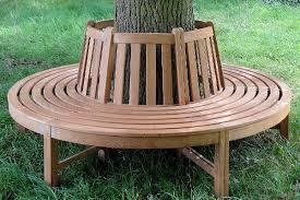 how to build a bench around a tree home design garden