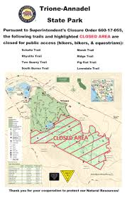 Park County Map Server Trione Annadel State Park Partially Reopened After Santa Rosa Fires