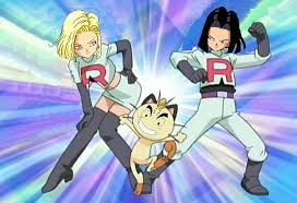 android 17 and 18 android 17 and 18 team rocket by avispaneitor on deviantart