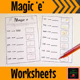 silent e worksheets teaching resources teachers pay teachers