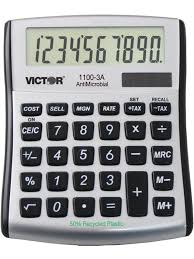 victor calculator 1100 3a 10 digit desktop calculator with built