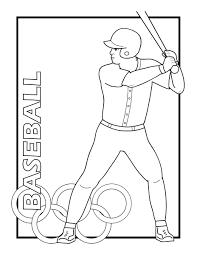 baseball coloring pages 6 baseball kids printables coloring pages