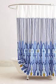 Orange And Blue Shower Curtain Capital A Fresh Start Shower Curtains Bright U0026 Bold