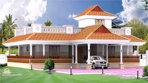 kerala style house elevation single storey youtube