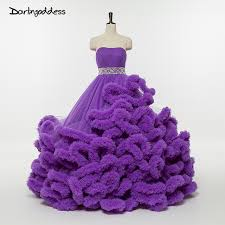 purple wedding dresses luxury purple wedding dresses cloud strapless with