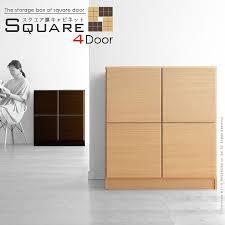 4 Door Cabinet Rcmdin Rakuten Global Market Square Door Cabinets Square 4 Door