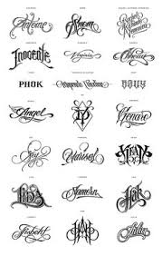 tattoos cursive letters for tattoo letter designs diy u0026 crafts