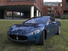 maserati granturismo blue interior maserati granturismo car 3d model cgtrader