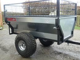 offroad trailer tarka 500c atv off road tipping trailer