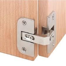 Kitchen Cabinet Corner Hinges 2pcs Pie Cut Corner Hinges Concealed Kitchen Cabinet Door Hinge