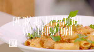 ben u0027s pork belly ragout with rigatoni youtube