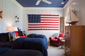 Bold Bedrooms In Blue Red And White Colors Home Design Lover - White and red bedroom designs