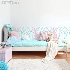 nursery stencils for walls and kids room stencils u2013 the stencil studio