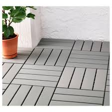 Teak Floor Tiles Outdoors by Runnen Decking Outdoor Ikea