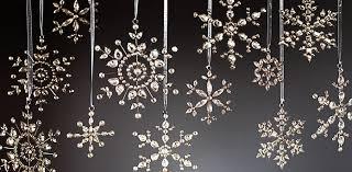 snowflake glass ornaments restoration hardware i will order