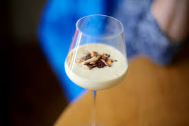 balade en cuisine crème au cupuaçu au crumble aux noix du brésil au menu de la