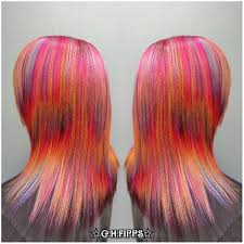hair color 201 tie dyed and or sand art hair color