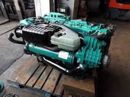 volvo penta kamd 44edc marine diesel engine s ready for stern