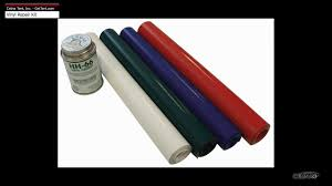 Awning Colors Vinyl Repair Kit For Tents Tarps Awnings Boat Covers Etc