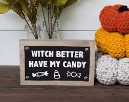 Halloween Decor Etsy by Witch Decor Etsy