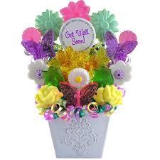 lollipop bouquet get well planter box lollipop bouquet candy gifts