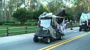 disney u0027s fort wilderness halloween golf cart parade full version