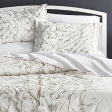 What Size Is King Size Duvet Cover Update Bedrooms With Stylish Duvet Covers Crate And Barrel