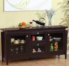 Enchanting Buffet Tables For Dining Room  In Glass Dining Room - Buffets for dining room