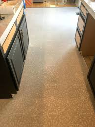 Painted Linoleum Floor Painted Linoleum Floor With Annie Sloan Chalk Paint And
