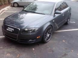 audi a4 matte black audi a4 2007 black rims cars9 info