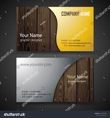 vector abstract creative business cards set stock vector 127893449