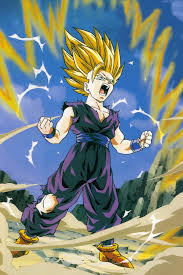 ssj2 gohan favorite chatacter trunks dragon ball