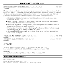 Attorney Resume Bar Admission Political Resume Resume Example