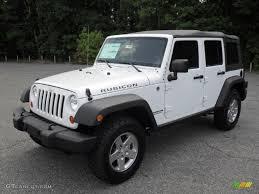 jeep white wrangler 2012 bright white jeep wrangler unlimited rubicon 4x4 53464035