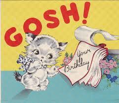487 best vintage birthday cards images on pinterest vintage
