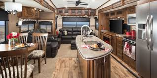 Open Range Fifth Wheel Floor Plans by Front Kitchen 5th Wheel Front 5th Wheel Kitchen Dining Makeover