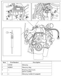 how do you replace the glow plug module and where is it located on