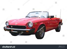 fiat spider white small 1980s red italian fiat spider stock photo 2879008 shutterstock