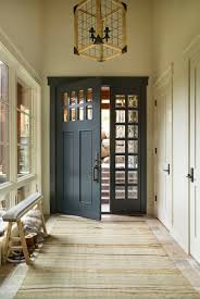 Modern Door Trim Entry Black Door White Trim Interior Barn Doors Pinterest