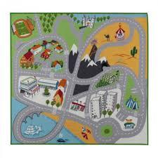 road rugs kids fun city car activity play mats smart mat