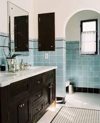 vintage black and white bathroom ideas vintage blue tile bathroom ideas floor what color walls best niche