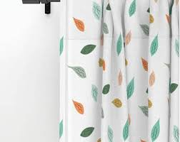 Autumn Colored Curtains Fall Color Curtains Etsy