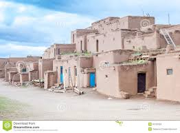 taos pueblo traditional type of native indians architecture