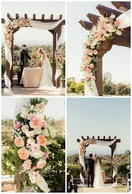 wedding arches edmonton garden wedding altar ideas colorful beaulieu garden wedding once