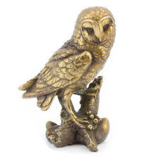 owl ornaments ornaments figurines metal owl collectables ebay