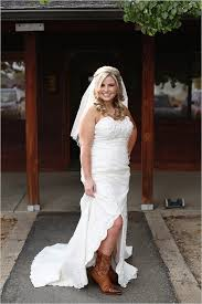 high low wedding dress with cowboy boots country wedding dresses with cowboy boots wedding corners