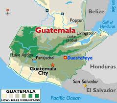 geographical map of guatemala guatemala hummingbirds operation rubythroat expedition 2011