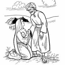 coloring page abraham and sarah abraham and sarah coloring page az coloring pages bible coloring