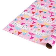 pink gift wrap gift wrap pink happy birthday spritz target